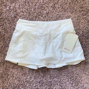 Lululemon Pace Rival Skirt *Regular - White (8)